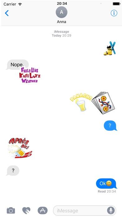 SwissMoji - Swiss Stickers screenshot