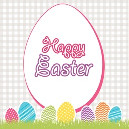 Happy Easter greeting card maker app,easter frames