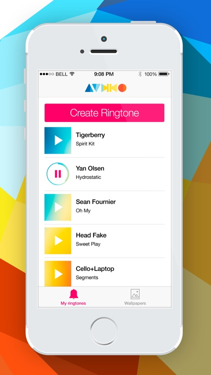 Audiko Ringtones Free - Ringtone Maker for iPhone