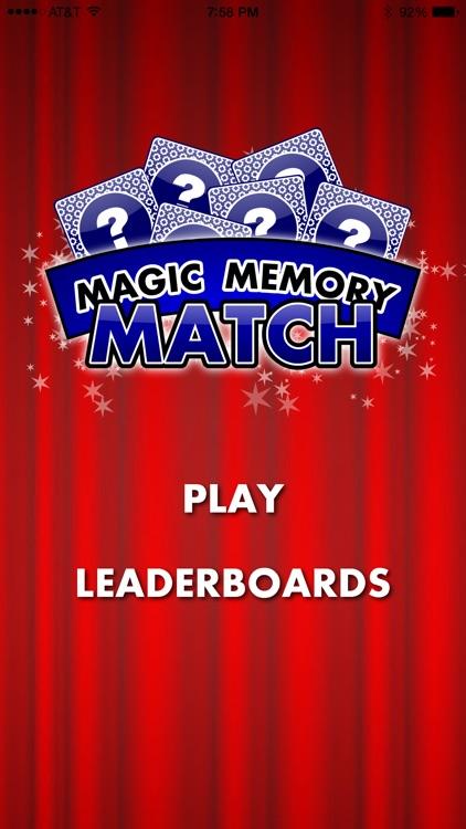 Magic Memory Match Free screenshot-0