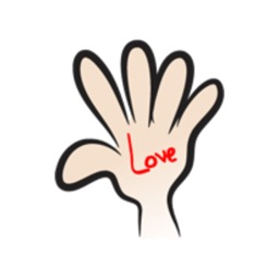 My Hand Talk - 2 stickers by wenpei