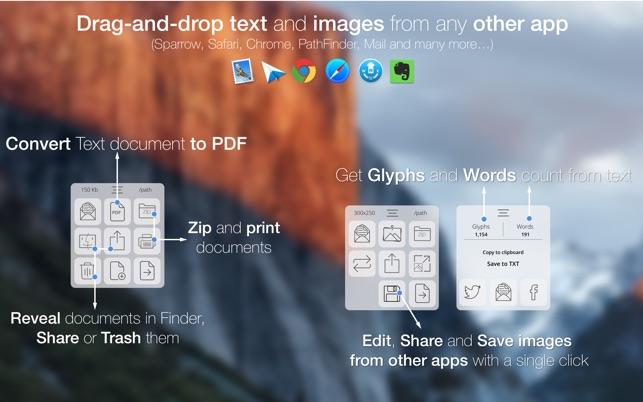 FilePane - File Management Drag & Drop Utility Screenshot