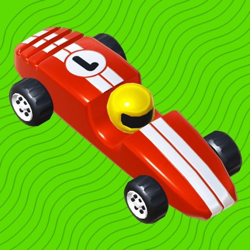 Wooden Toy Race - for kids