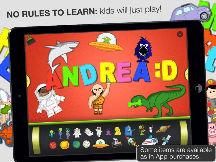 ABC - Magnetic Alphabet Lite for Kids screenshot-4