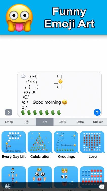 New Emoji - Extra Emoji Stickers screenshot-4