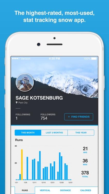 Trace Snow - Ski + Snowboard Tracker