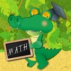 Croco Math – Play and Learn Math Tables icon