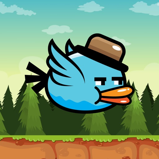 BlueBird - Addictive Flappy Game for Teens