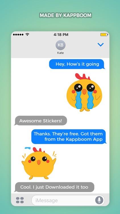 Farm Animal Emoji Stickers screenshot-3