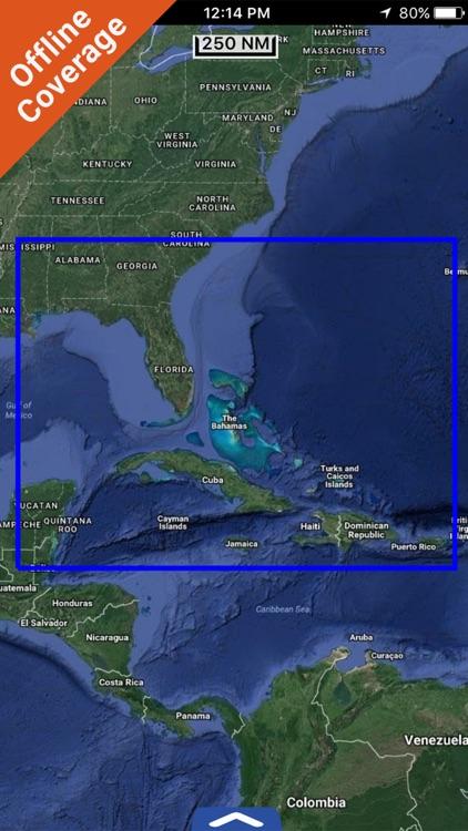 Florida Professional Chart GPS Lowrance Simrad B&G screenshot-4