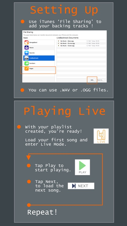 Live Backing Track : Multitrack Live Play screenshot-3