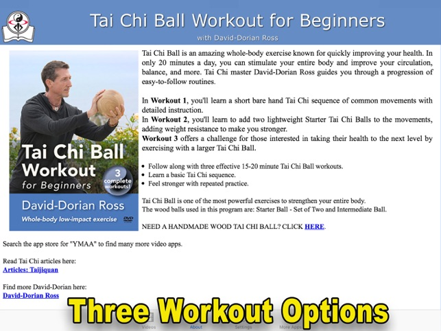 Tai Chi Ball Workout for Beginners on the App Store