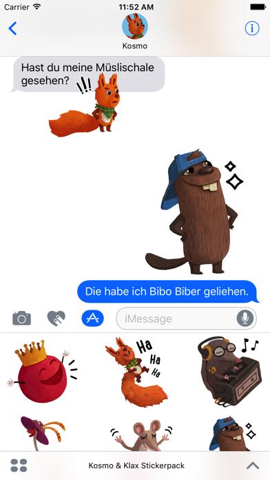 Kosmo & Klax: Sticker-Fun! screenshot 2