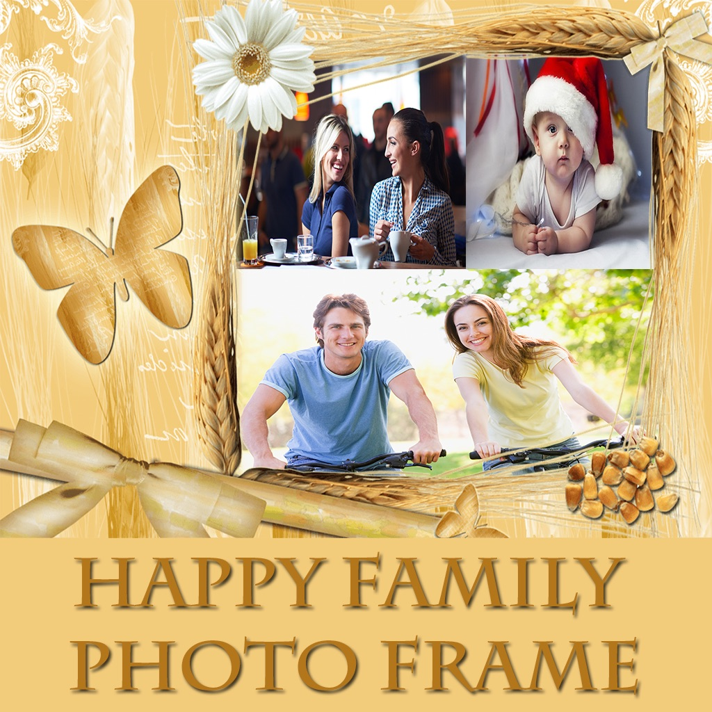 Happy Family Hd Photo Collage Frame App Data Review