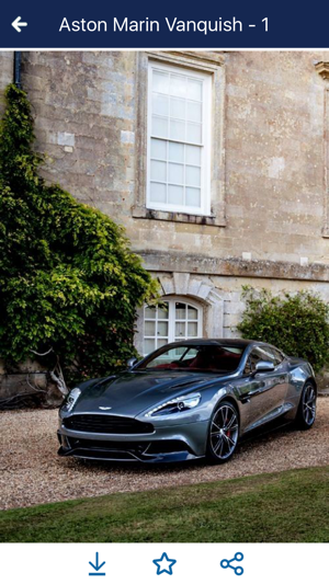 Hd Car Wallpapers Aston Martin Vanquish Edition On The App Store