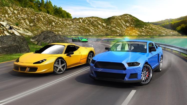 Real Turbo Car Racing 3D screenshot-4