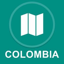 Colombia : Offline GPS Navigation