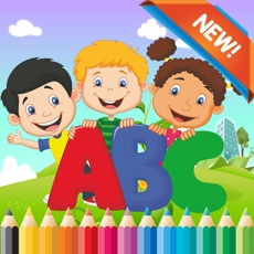 Activities of ABC Coloring Book for kids age 1-6 :Cute alphabets