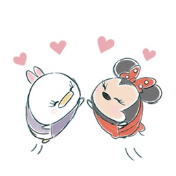 Funny Sketch Love Animated Stickers