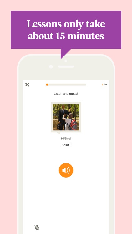 Learn French with Babbel app image