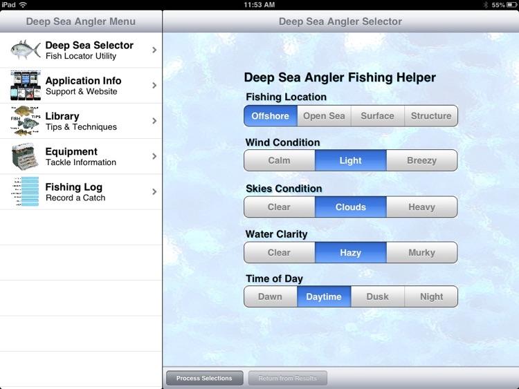 Deep Sea Angler Pro screenshot-3