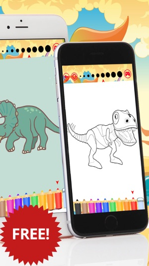 Coloring Books Dinosaur For Kid On The App Store