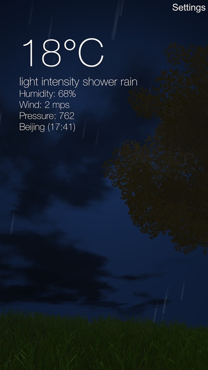 Nature Live Weather 3D PRO screenshot-3