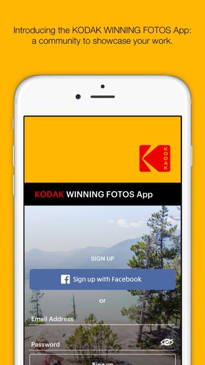 KODAK Winning Fotos screenshot-0