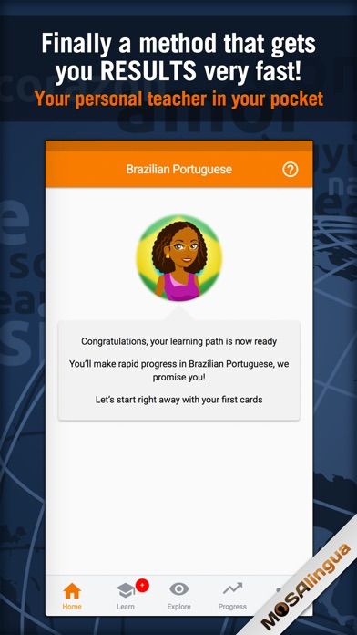 Learn Portuguese - MosaLingua Screenshots