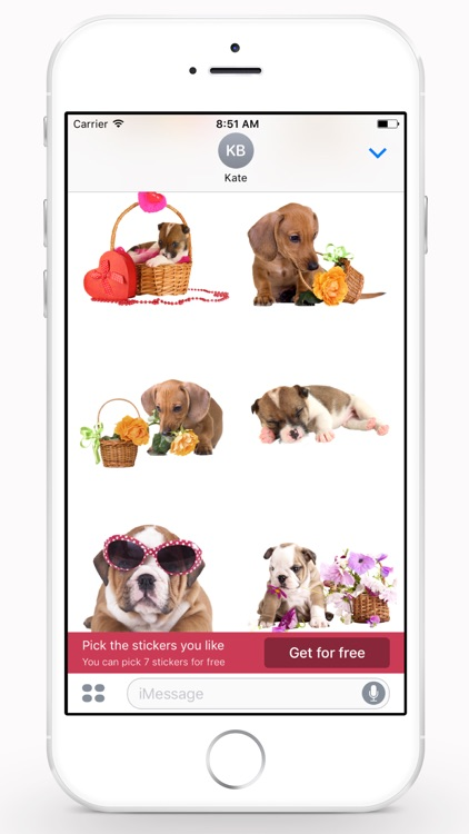Cute Puppies Stickers