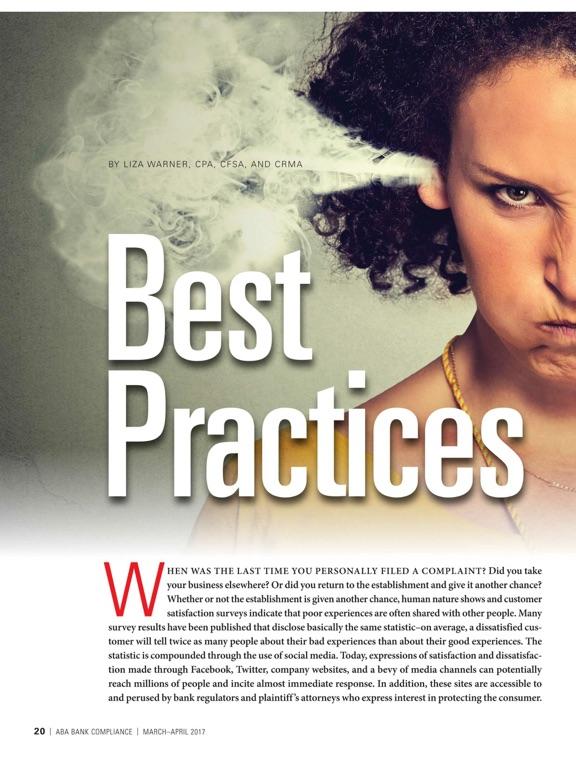 ABA Bank Compliance magazine-ipad-3
