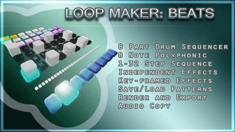 LoopMaker:BEATS Drum & Percussion Looper with MIDI