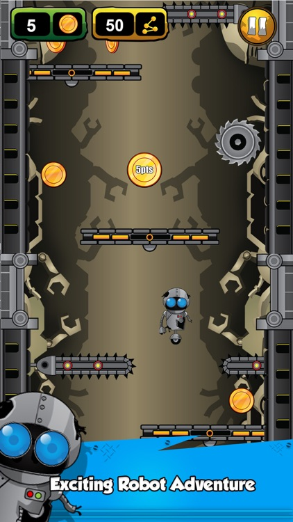 Robbi - Escape The Robot Scrap Yard Free screenshot-0