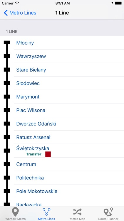 Warsaw Metro & Subway screenshot-3