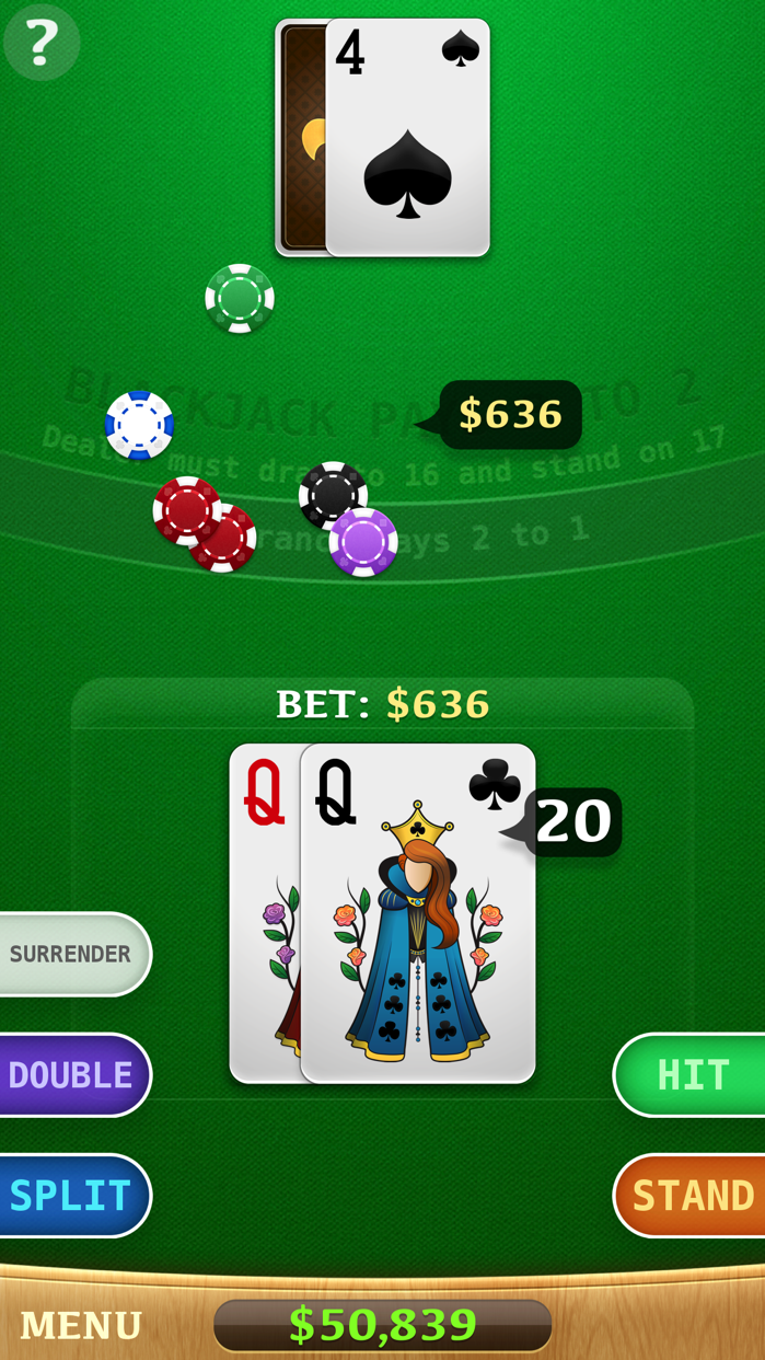 ⋆Blackjack Screenshot