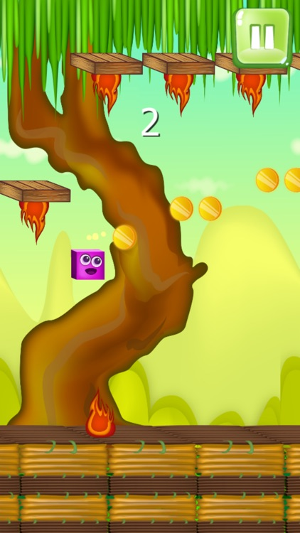 magic colorful cube jump in the world of adventure screenshot-4