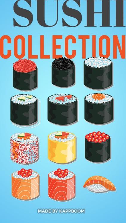Sushi Stickers II