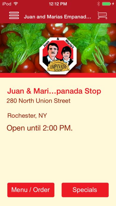 Juan & Maria's Empanada Stop screenshot one
