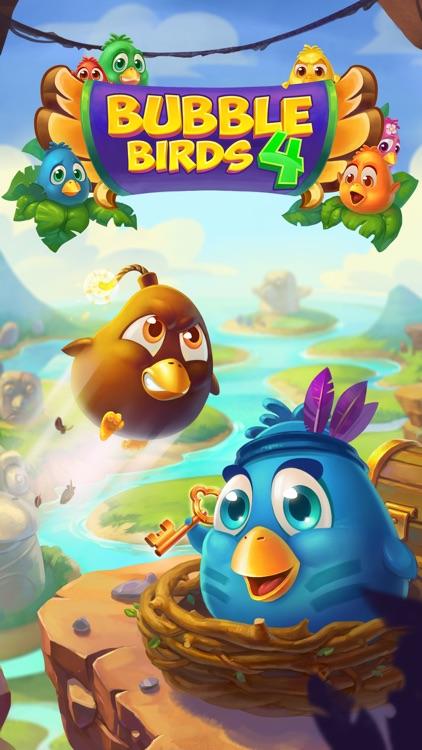 Bubble Birds 4: Match 3 Puzzle Shooter Game screenshot-4