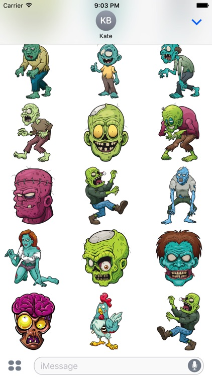 Zombistickers screenshot-3