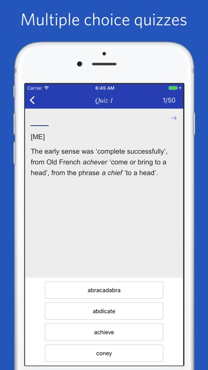 The Dictionary of Word Origins screenshot-4