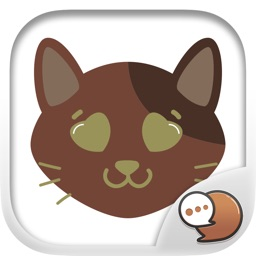 Smiley Cat Feeling Stickers for iMessage