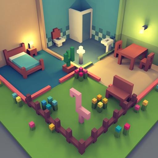 Dream House Design Sim Craft: Interior Exploration By Tiny