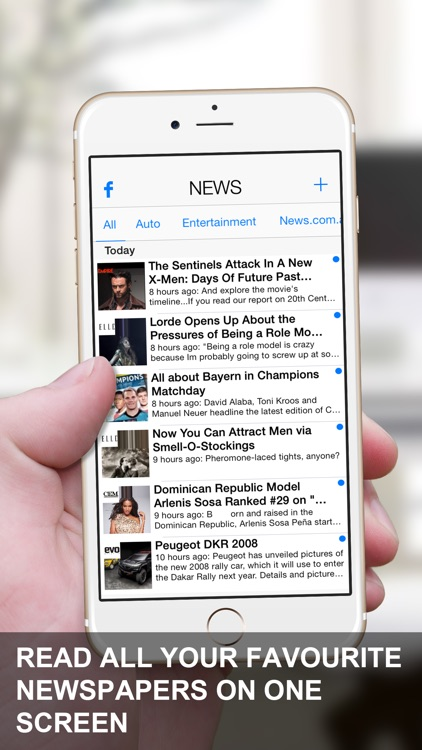 News App - Newspaper & Magazine RSS Feed Reader