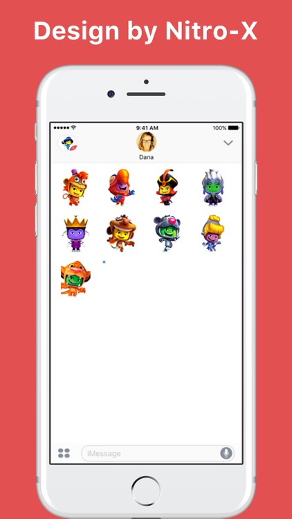 Funky Emoji Character stickers by Nitro-X