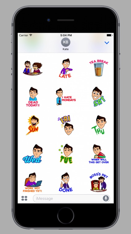Office Life Stickers