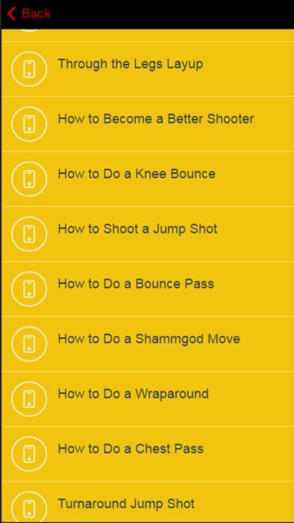 Basketball for Beginners - Tips and Tricks screenshot-4