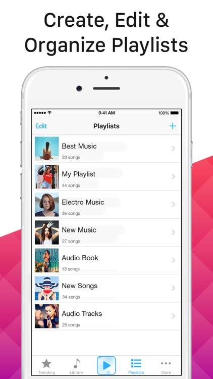 Multi Music Player - Song Streamer, Playlist Maker screenshot-3