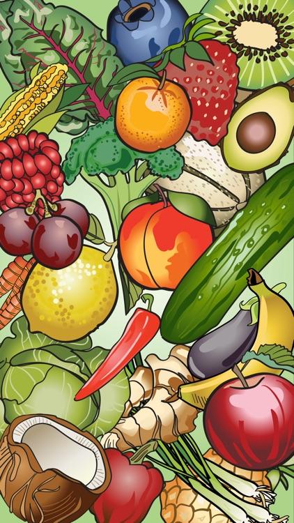 Fruit & Vegetable Stickers screenshot-3