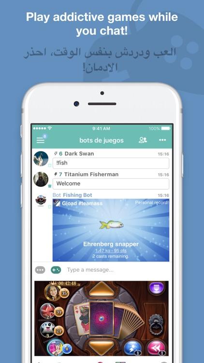 Palringo Group Messenger screenshot-4